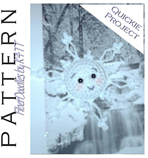 CP05 - Xue the Snowflake - Free Crochet Pattern by @_K4TT_ | Featured at Fiber Doodles by K4TT - Sponsor Spotlight Round Up via @beckastreasures | #fallintochristmas2016 #crochetcontest #spotlight #crochet #roundup