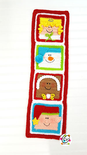 Holiday Friends Sampler | Featured at Tuesday Treasures #22 via @beckastreasures with @SnappyTots | #crochet