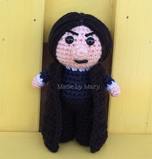 Wizard Teacher - Crochet Pattern by #MadebyMary | Featured at Made by Mary - Sponsor Spotlight Round Up via @beckastreasures | #fallintochristmas2016 #crochetcontest #spotlight #crochet #roundup