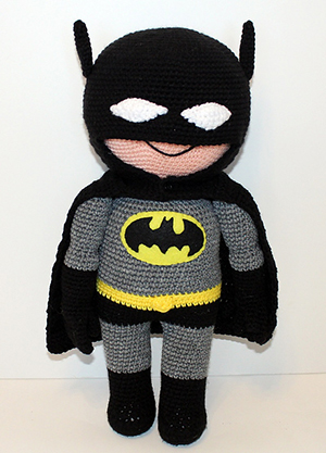 Bat Buddy - Kid Hero - Free Crochet Pattern by #MadebyMary | Featured at Made by Mary - Sponsor Spotlight Round Up via @beckastreasures | #fallintochristmas2016 #crochetcontest #spotlight #crochet #roundup