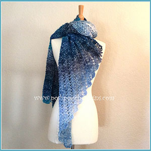 The Healing Wrap Shawl | Featured at Tuesday Treasures #23 via @beckastreasures with @PoshPoochDesign | #crochet
