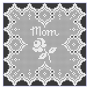 Mother's Day Rose Filet Doily - Free Crochet Pattern by @crochetmemories Featured at Crochet Memories - Sponsor Spotlight Round Up via @beckastreasures | #fallintochristmas2016 #crochetcontest #spotlight #crochet #roundup