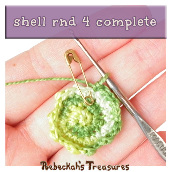 WIP Picture 13 | Crocheting the Turtle's Shell via @beckastreasures | FREE Finger Puppet Crochet Pattern!