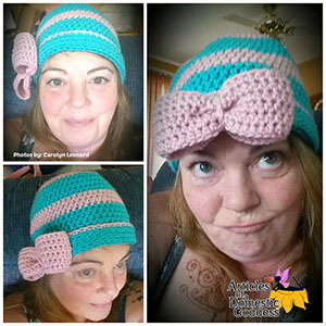 Simple Charity Teen/Adult Hat - Free Crochet Pattern by @ArtofaDG | Featured at Articles of a Domestic Goddess - Sponsor Spotlight Round Up via @beckastreasures | #fallintochristmas2016 #crochetcontest #spotlight #crochet #roundup