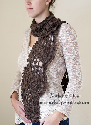 Shell Scarf | Featured on @beckastreasures Tuesday Treasures #2 with @melodysmakings!