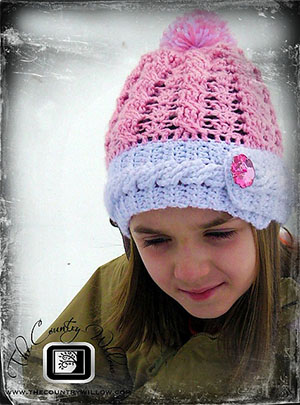Rockin the Cables Hat - Free Crochet Pattern by @countrywillow12 | Featured at Country Willow Designs - Sponsor Spotlight Round Up via @beckastreasures | #fallintochristmas2016 #crochetcontest #spotlight #crochet #roundup