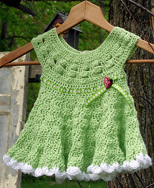Priscilla Dress - Crochet Pattern by @countrywillow12 | Featured at Country Willow Designs - Sponsor Spotlight Round Up via @beckastreasures | #fallintochristmas2016 #crochetcontest #spotlight #crochet #roundup