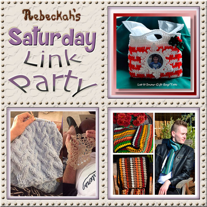 Saturday Link Party #65 via @beckastreasures with @crochetmemories @Kekibird / @DoriCrafts of #HobbiesUpToHere & @#AtelierMarie-Lucienne | Come see 3 awesome project features, and JOIN us for an all NEW link party today! | #linkparty #crochet #knit #crafts #recipes #diy #howto #tutorials #patterns | *Party #65 ends Friday, December 16th, 2016. Join the latest parties here: https://goo.gl/uUHihU