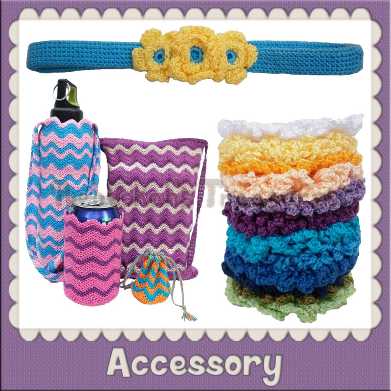 Accessory Crochet Patterns by @beckastreasures