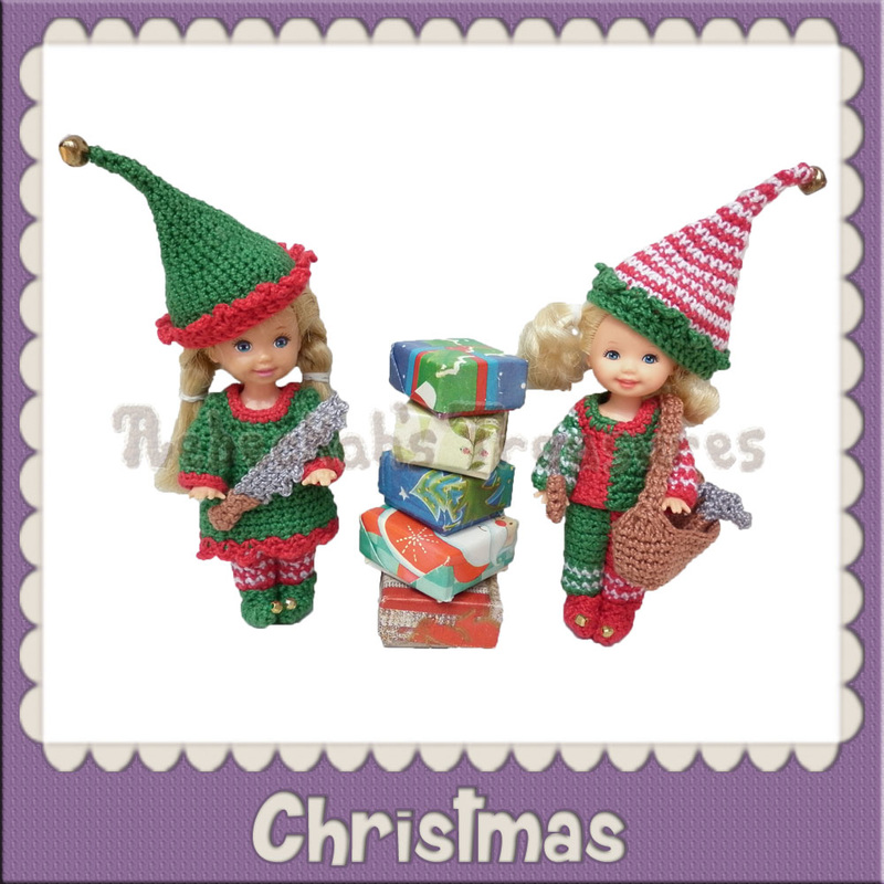 Christmas Crochet Patterns by @beckastreasures