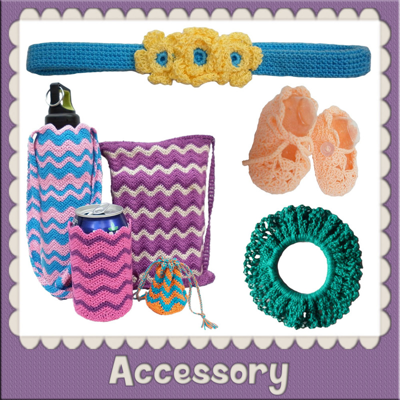 Free Accessory Crochet Patterns by @beckastreasures