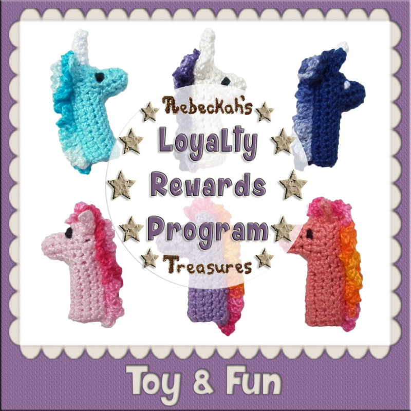 Loyal Toy & Fun Crochet Patterns by @beckastreasures