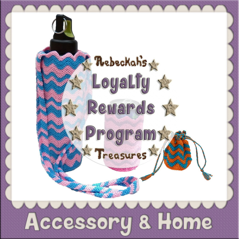 Loyal Accessory & Home Crochet Patterns by @beckastreasures