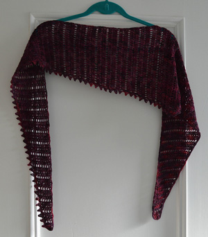 Thaden's Asymmetrical Shawl | Friday Feature #3 via @beckastreasures with @ucrafter #crochet