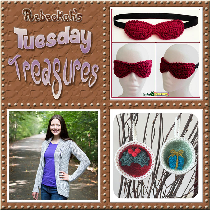 Tuesday Treasures #17 via @beckastreasures with @WhichCraft3 @KTandtheSquid & #LauraLovesCrochet | Come see 3 popular crochet pattern designs of today!