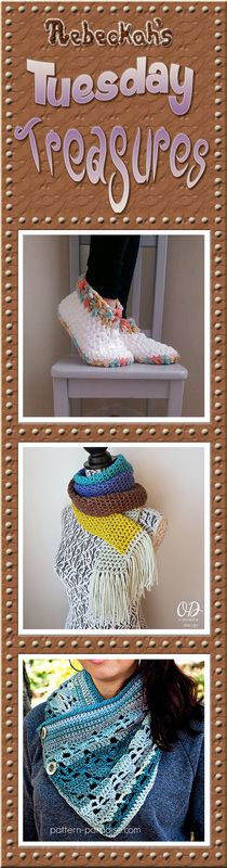 Tuesday Treasures #24 via @beckastreasures with @LavenderChair @OombawkaDesign & @PatternParadise | Come see 3 popular crochet pattern designs of today!