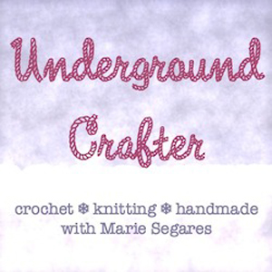 Underground Crafter, this week's Friday Feature #3 via @beckastreasures with @ucrafter! | #crochet #knit #designer