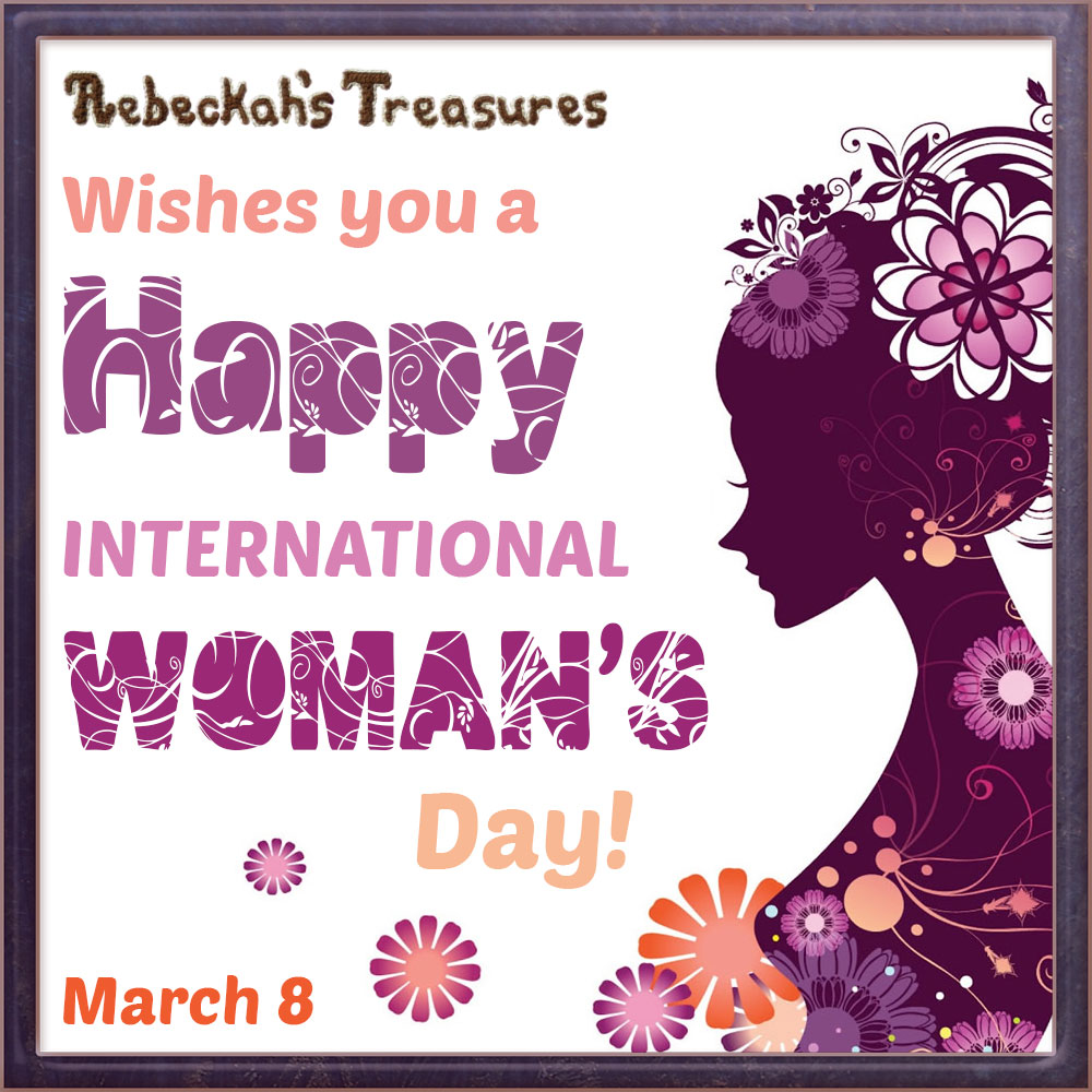 Happy International Woman's Day from @beckastreasures!