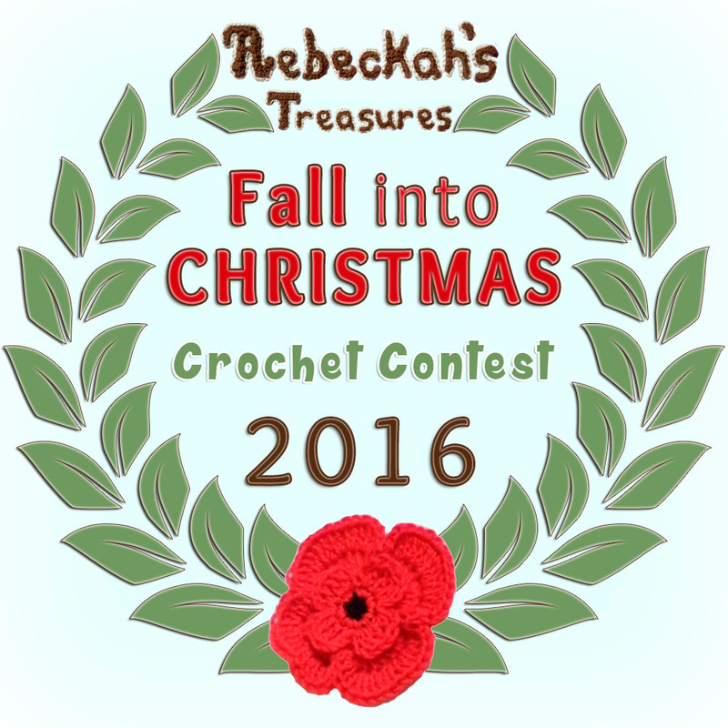 Fall into Christmas with a brand new #crochet #contest hosted by @beckastreasures featuring 26 prize sponsors! | SUBMISSIONS close December 4th, 2016 | VOTING begins December 5th, 2016 | What are you waiting for? Submit your 3 favourite projects TODAY and #WIN!!! | Learn more here: https://goo.gl/zYdFsN #fallintochristmas2016
