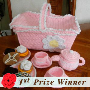 1st Prize Winner | Fall into Christmas Birthday Crochet Contest 2015 via @beckastreasures