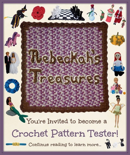 You're Invited to become a Crochet Pattern Tester!
