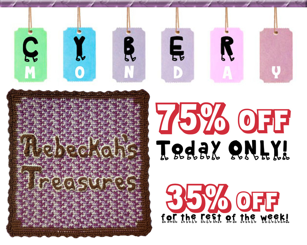 Cyber Monday Super Savings! via @beckastreasures from 35-75% off...