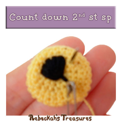 WIP Picture 16 - Amigurumi Abayomi Lion #CAL Part 4: Facial Features - via @beckastreasures