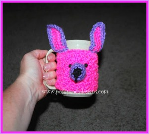 Chihuahua Coffee Cup Mug Cozy by Sara of Posh Pooch Designs - Featured on @beckastreasures Saturday Link Party!