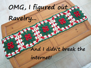 I finally figured out Raverly by Jenny of Crochet is the Way - Featured on @beckastreasures Saturday Link Party!