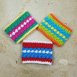 Summer Color Splash Cozy - Free Crochet Pattern by @CheeryChameleon | Featured at The Cheerful Chameleon - Sponsor Spotlight Round Up via @beckastreasures | #fallintochristmas2016 #crochetcontest #spotlight #crochet #roundup