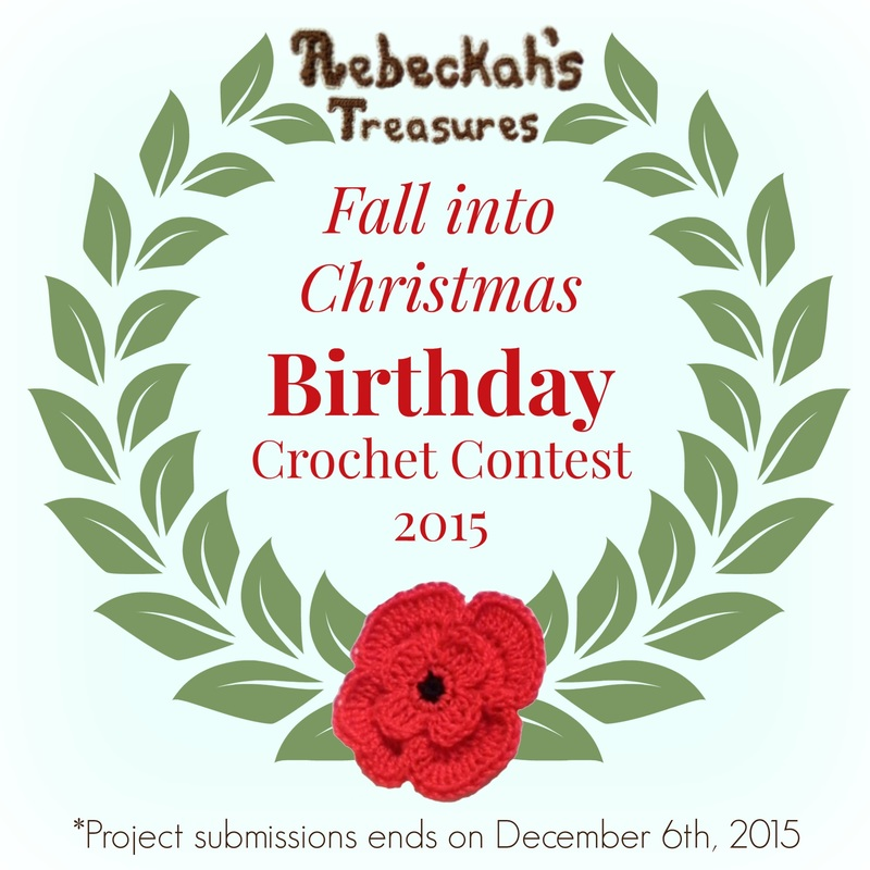Fall into Christmas Birthday Crochet Contest 2015 with @beckastreasures! Join the fun and show off your crochet today...