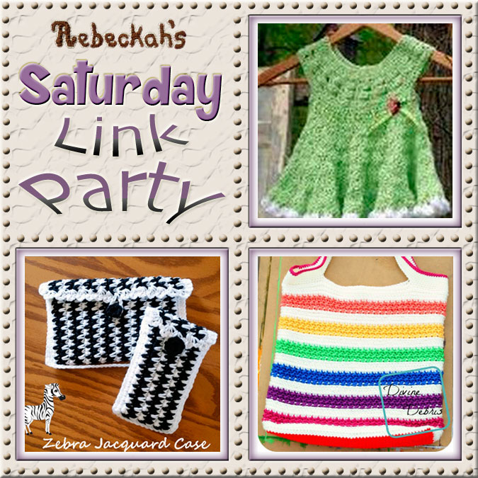 Share what you're making, increase your reach and have some fun with Rebeckah's 4th Saturday Link Party... via @beckastreasures