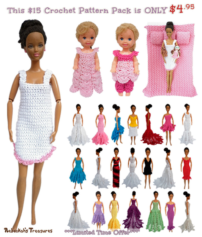 Fashion Doll $15 Combo Pack is ONLY $4.95 until June 7th, 2015 via @beckastreasures