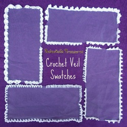 Crochet Veil Swatches Free Pattern Coming Soon...