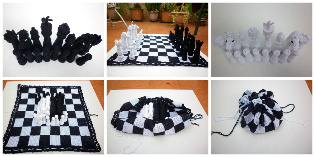 Crochet Board Games