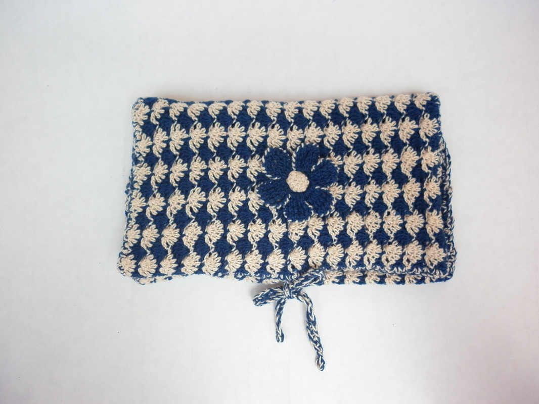 Crochet Cosmetic Bag