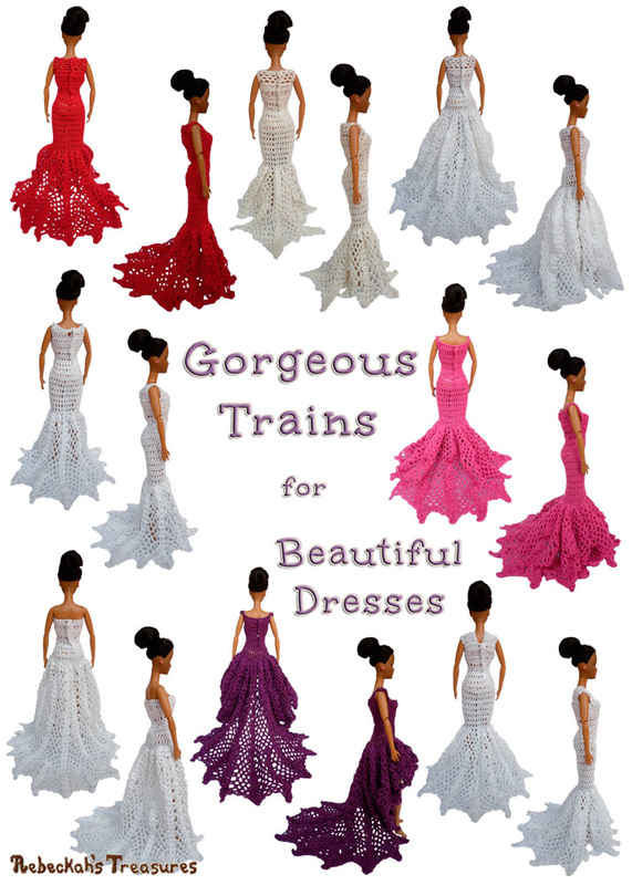 Gorgeous Trains for Beautiful Happily Ever After Dresses via @beckastreasures