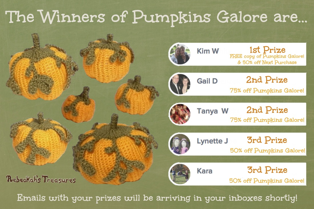 Pumpkin Galore Winners September 2014