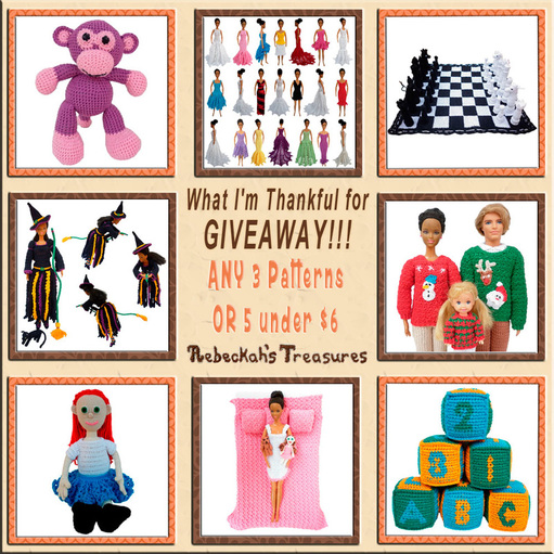 What I'm Thankful for Giveaway prize from @beckastreasures