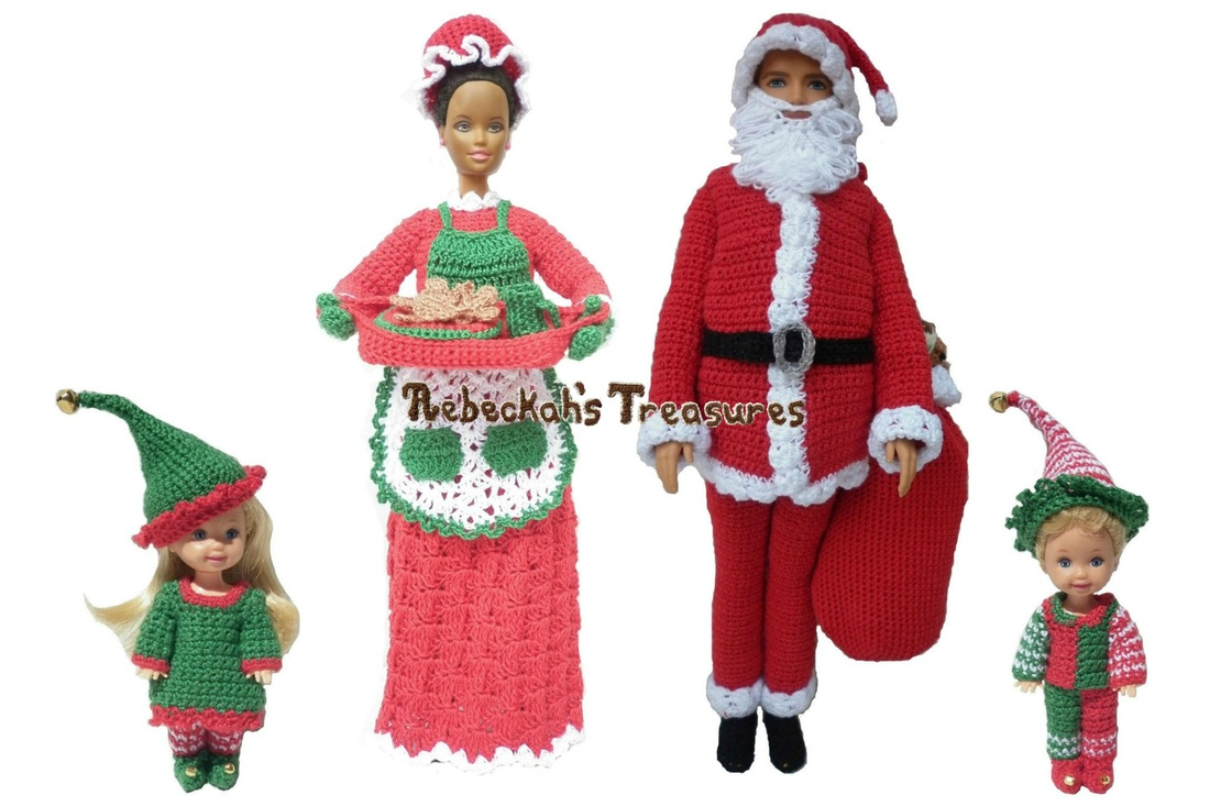 Fashion Doll Christmas Bundle