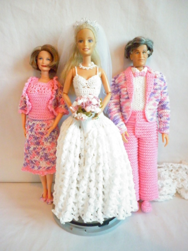 Crochet Barbie Wedding