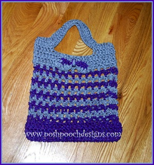 Cordial Shopping Bag by Sara of Posh Pooch Designs - Featured on @beckastreasures Saturday Link Party!