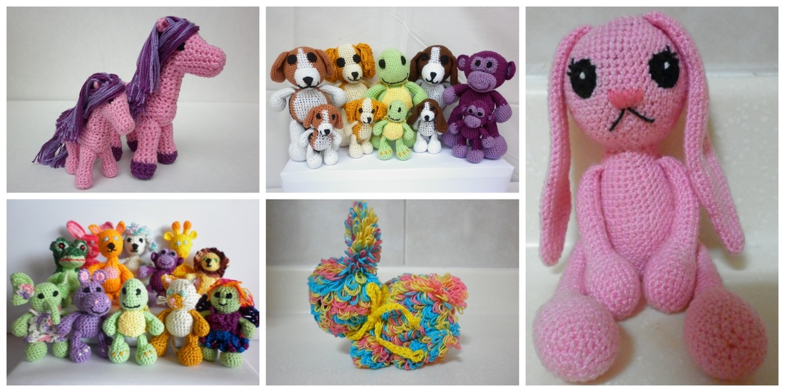 Crochet Amigurumi Animals
