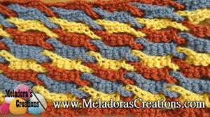 Single Weave and Link Stitch by Candy from Meladoras Creations - Featured on @beckastreasures Saturday Link Party!
