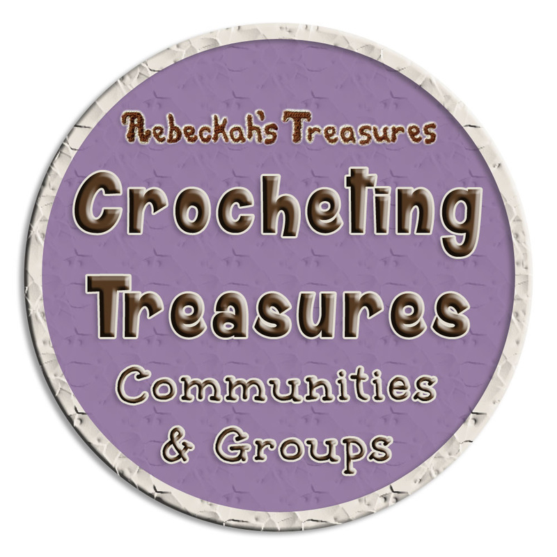 Crocheting Treasures Communities & Groups by @beckastreasures | Share your crochet. Get help with patterns. Connect with Rebeckah. Join a Crocheting Treasures group today!