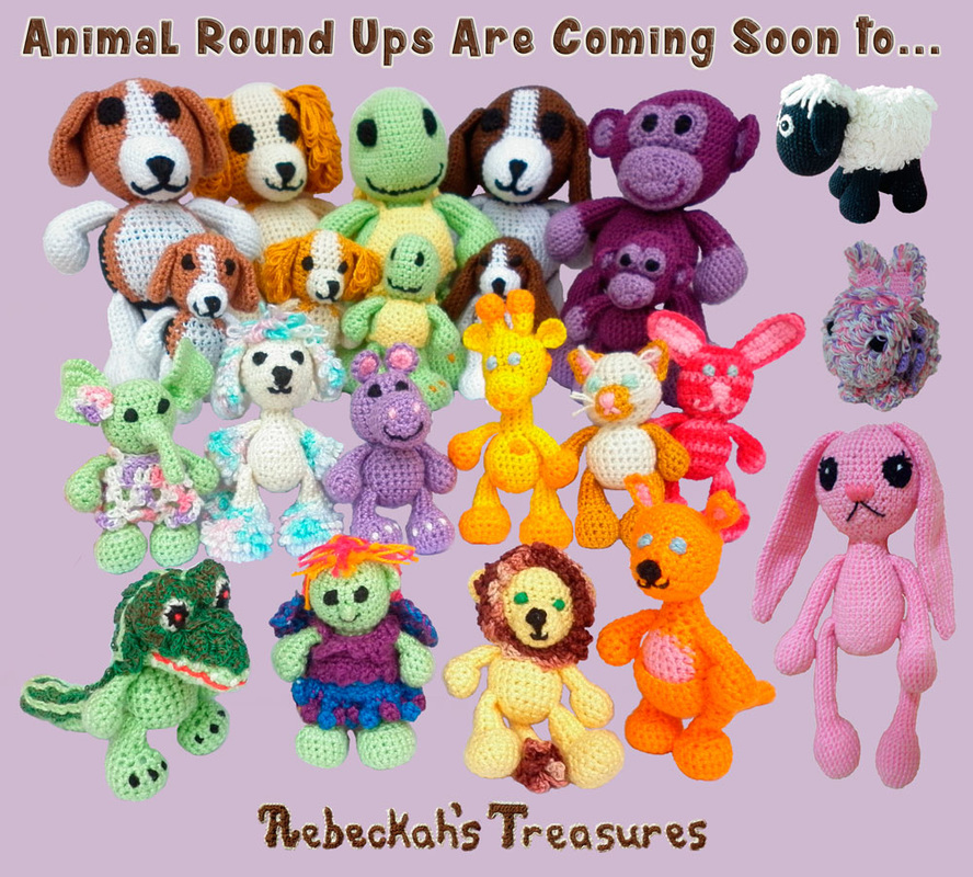 Animal Round Ups are coming soon to Rebeckah's Treasures!