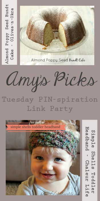 Amy's Picks | Tuesday PIN-spiration link party