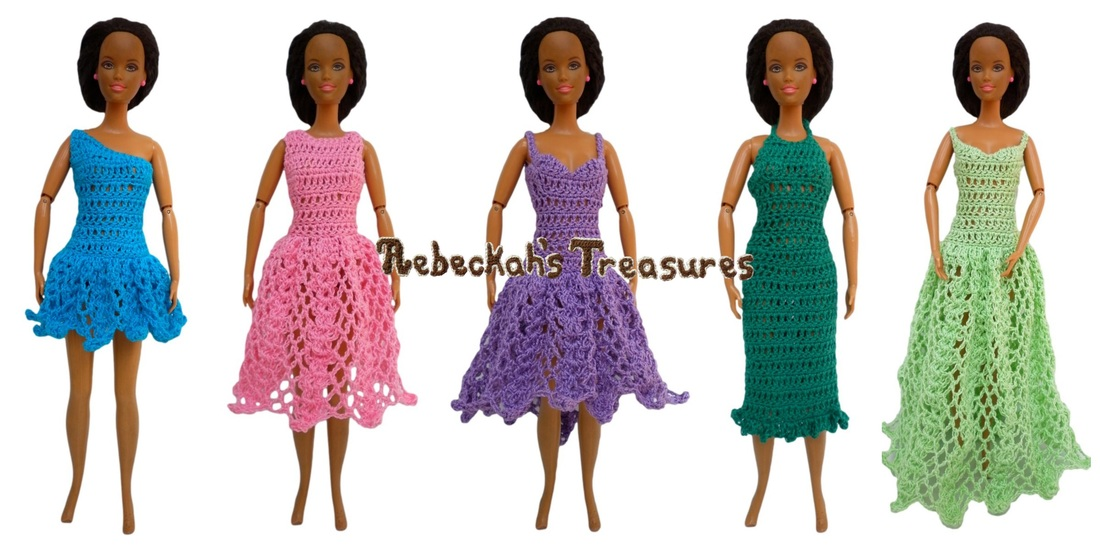 More Formal Dress Previews for Barbie's New Pattern