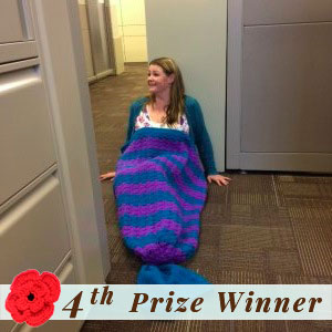 4th Prize Winner | Fall into Christmas Birthday Crochet Contest 2015 via @beckastreasures