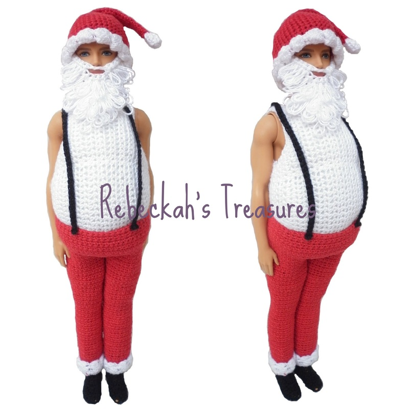 Mr. Ken Claus (a.k.a. Santa Ken) WIP by Rebeckah's Treasures